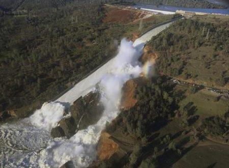 Timori per diga in California, evacuate 188mila persone
